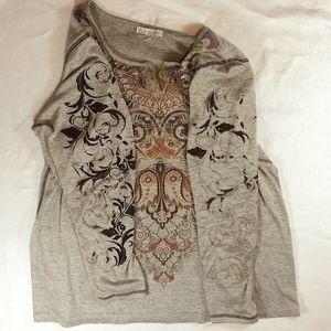 Dress Barn Tops - DB Established 1962 brown & orange tops size 2X